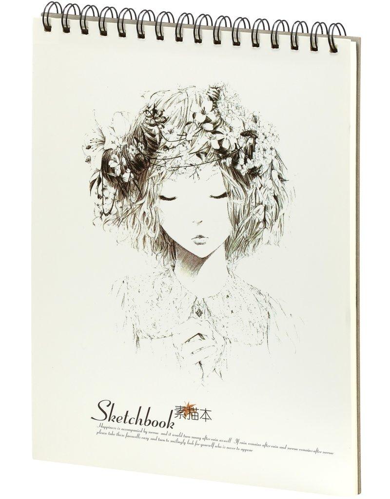Dreamnotes Schetsboek girls dream 288 x 215 mm 100 grams 50 p