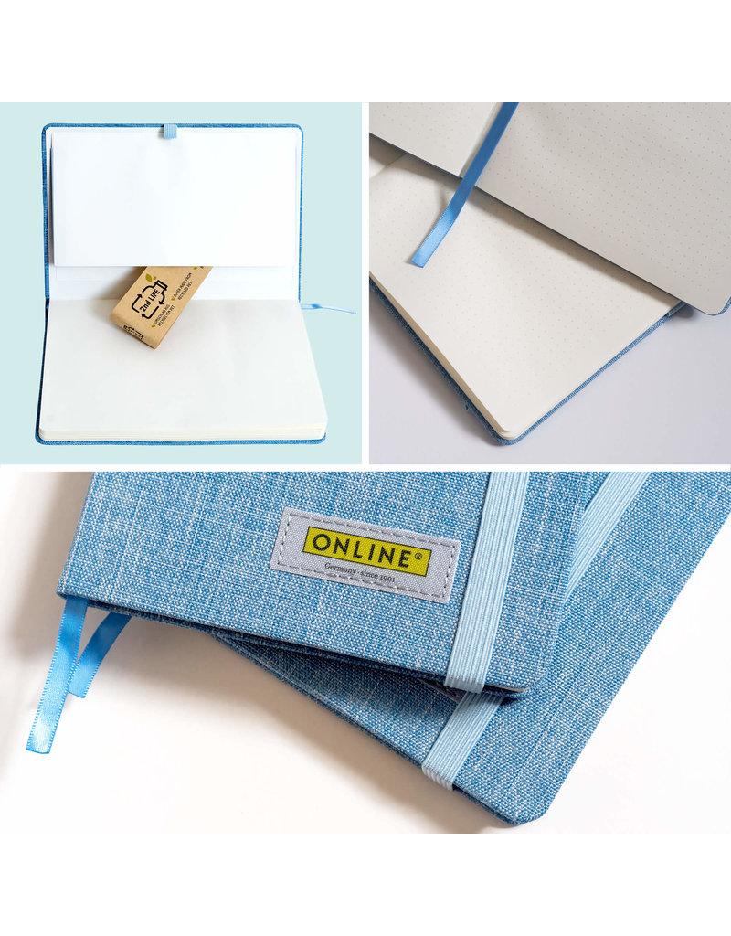 ONLINE Schreibgeräte Duurzame Bullet Journal A5, 80g/m², 192 pagina's
