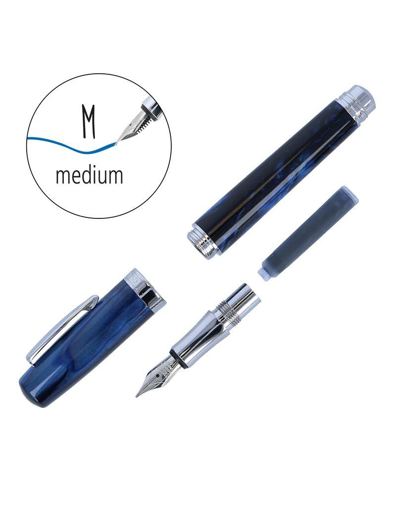 ONLINE Schreibgeräte Vulpen Bohemian Art blauw