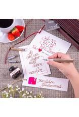 ONLINE Schreibgeräte Kalligrafie set Newood bruin