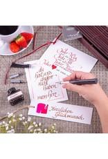 ONLINE Schreibgeräte Kalligrafie set Newood zwart