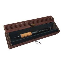 ONLINE Schreibgeräte 31313 Multifunctionele pen kurk in bamboe doosje