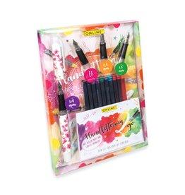 ONLINE Schreibgeräte 12482 Handlettering Set Cherry Blossom