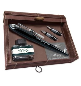ONLINE Schreibgeräte ONL10030 Kalligrafie Best Writer Set Zwart
