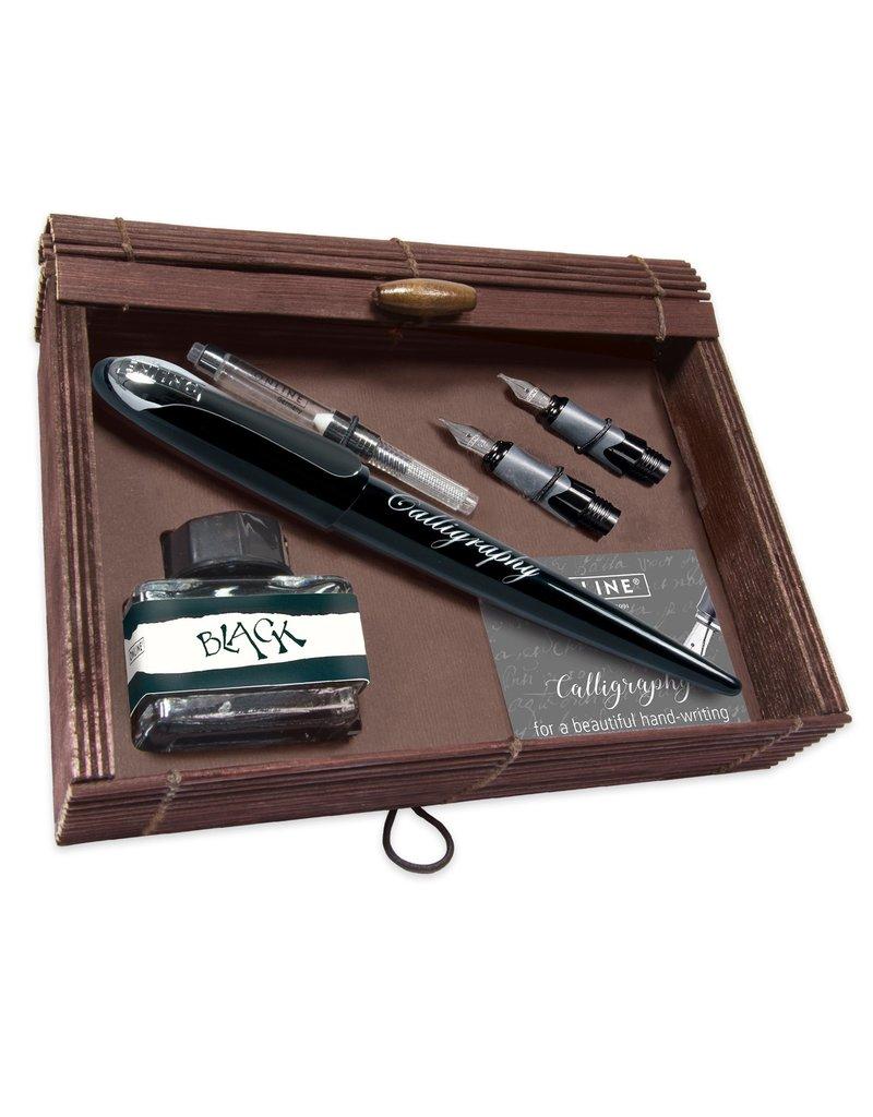 ONLINE Schreibgeräte Kalligrafie Best Writer Set Zwart