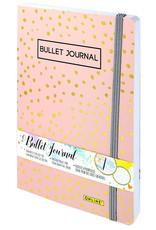 ONLINE Schreibgeräte Bullet Journal Spotlights Rose, 144 seiten, 120g/m² FSC-Papier, Lineatur dotted/gepunkted