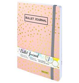 ONLINE Schreibgeräte 70042 Bullet Journal Spotlights Rose, 144 seiten, 120g/m² FSC-Papier, Lineatur dotted/gepunkted