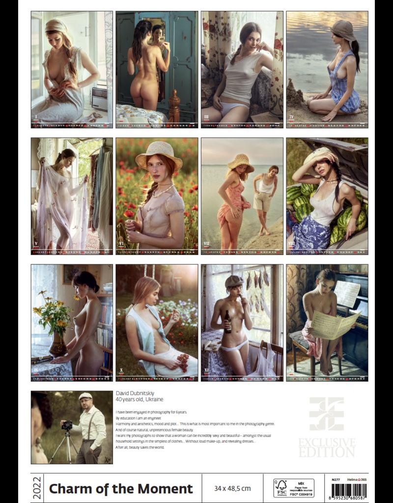 Erotiek C277-22 Kalender Charme van het moment 2022