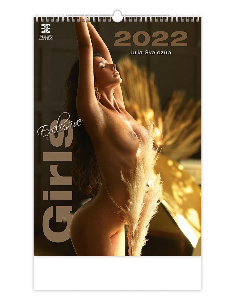 Erotiek Kalender Exclusieve meisjes 2022