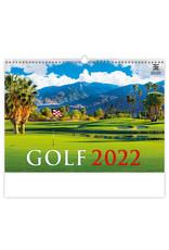 Helma Kalpa Wandkalender Golf 2022
