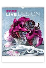 Helma Kalpa Wall Calendar 2022 Live Design Calendar 45 x 52 cm   Calendar 2022