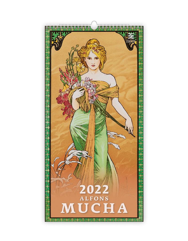 Helma Alfons Mucha 2022 Kalpa Wandkalender