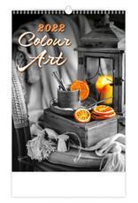 Helma Kalpa Wandkalender 2022 Kleuren kunst 31.5 x 45 cm