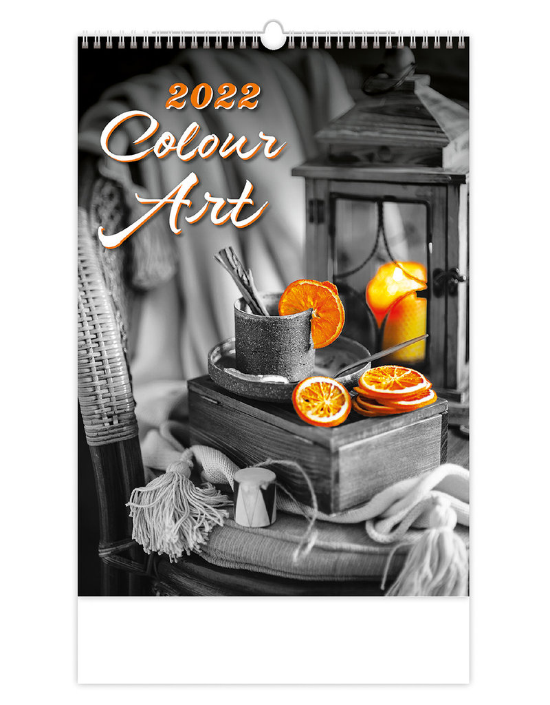 Helma C148-22 Kalpa Wall calendar 2022 Colour art 31.5 x 45 cm
