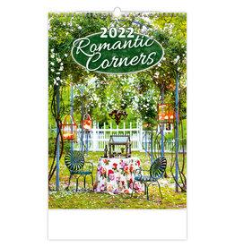 Helma C147-22 Kalpa Wall Calendar 2022 Romantic Corners Calendars 31.5 x 45 cm