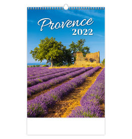 Helma C142-22 Kalpa Wall Calendar 2022 Provence 31.5 x 45 cm