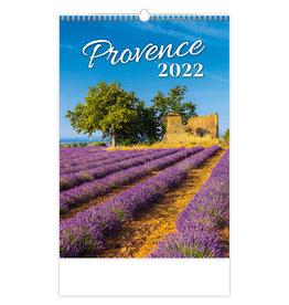 Helma C142-22 Kalpa Wandkalender Provence 2022 31.5 x 45 cm