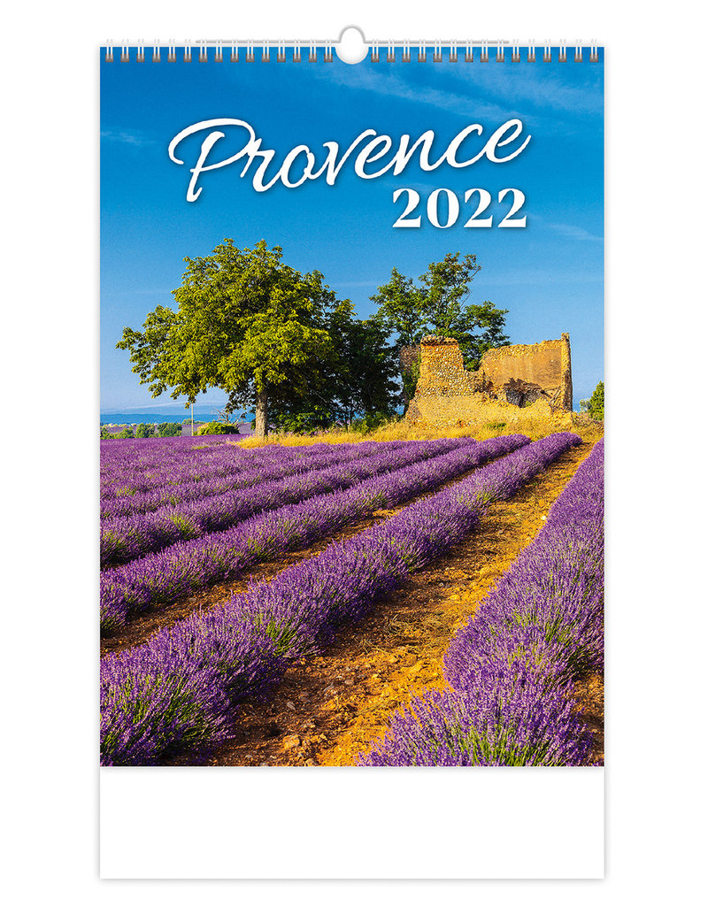 Helma Kalpa Wall Calendar 2022 Provence 31.5 x 45 cm