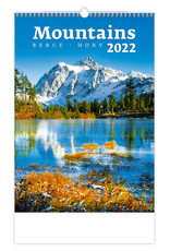 Helma C126-22 Kalpa Wandkalender 2022 Bergen 31.5 x 45 cm