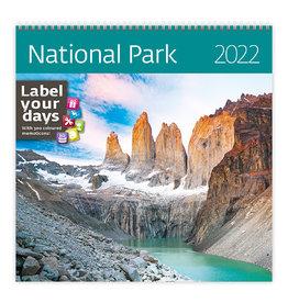 Helma CA08-22 Kalender 30 x 30 cm Nationale parken