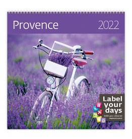 Helma CA10-22 Calendar 30 x 30 cm Provence