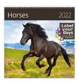 Helma CA03-22 Kalender 30 x 30 cm Paarden
