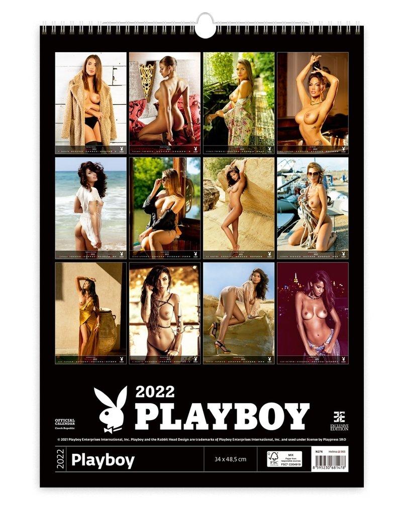 Erotiek Calendar Playboy 2022