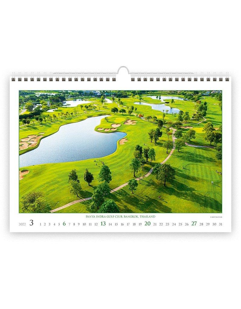 Helma Kalpa Wall Calendar Golf 2022