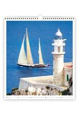 Helma C270-22 Kalpa Wall Calendar 2022 Sailing Calendar 45 x 52 cm