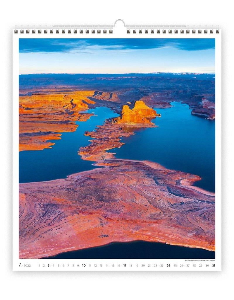 Helma Geo kunst 2022 Kalpa Wandkalender