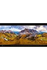 Helma Kalpa Wall Calendar 2022 Panoramaphoto 63 x 31.5 cm   Calendar 2022