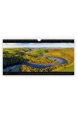 Helma C261-22 Kalpa Wandkalender 2022 Panoramafoto 63 x 31.5 cm