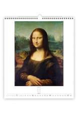 Helma C251-22 Leonardo de Vinci  2022 Kalpa Wandkalender