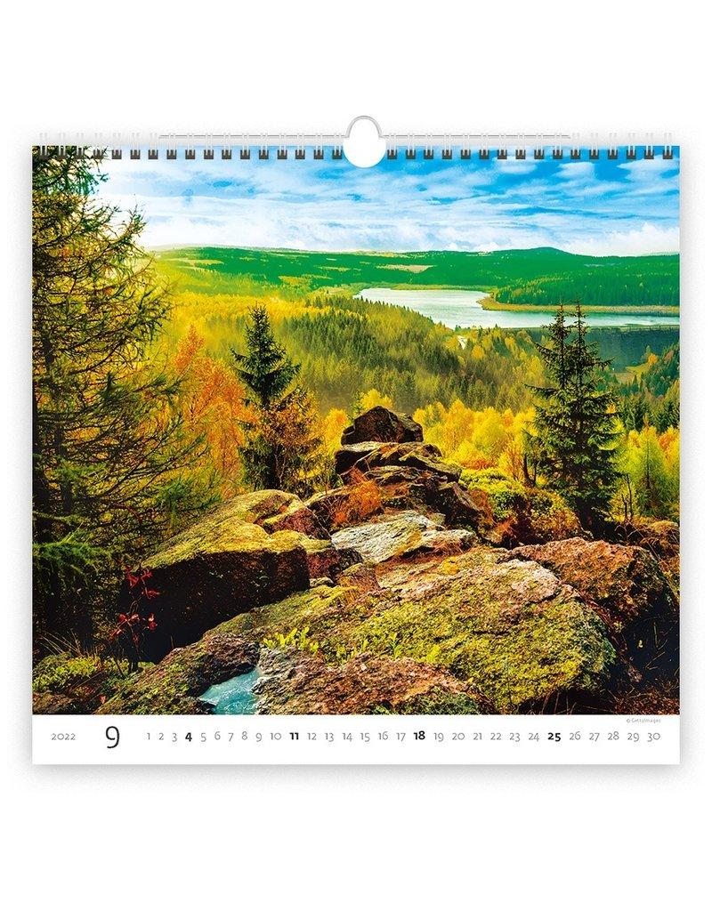 Helma C165-22 Bos 2022 Kalpa Wandkalender
