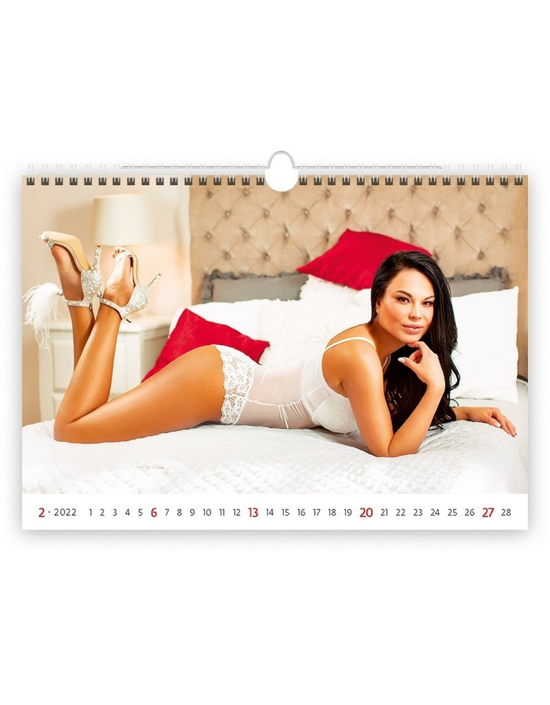 Erotiek C163-22 Flirt 2022 Kalpa Wandkalender