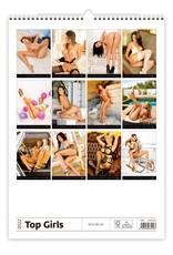 Erotiek Kalpa Wandkalender Top meisjes 2022
