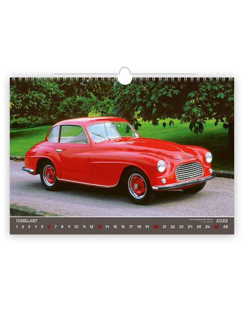 Helma C158-22 Kalpa Wall Calendar 2022 Retro cars 45 x 31.5 cm.