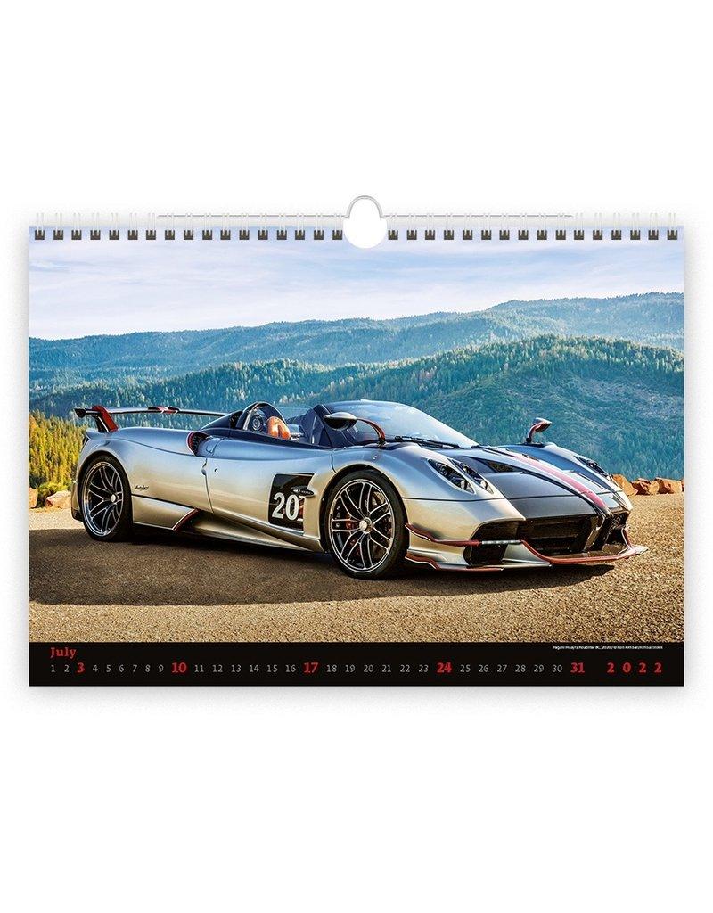 Helma C153-22 Kalpa Wandkalender 2022 Auto's 45 x 31.5 cm