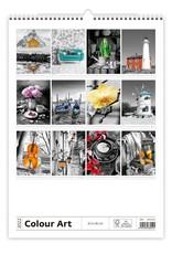 Helma C148-22 Kalpa Wandkalender 2022 Kleuren kunst 31.5 x 45 cm