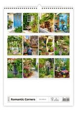 Helma Kalpa Wandkalender 2022 Romantische plekjes 31.5 x 45 cm