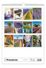 Helma C142-22 Kalpa Wandkalender 2022 31.5  x 45 cm Provence