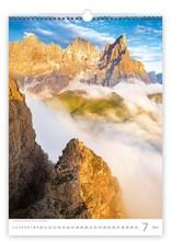 Helma C138-22 Kalpa Wandkalender 2022 Alpen 31.5 x 45 cm
