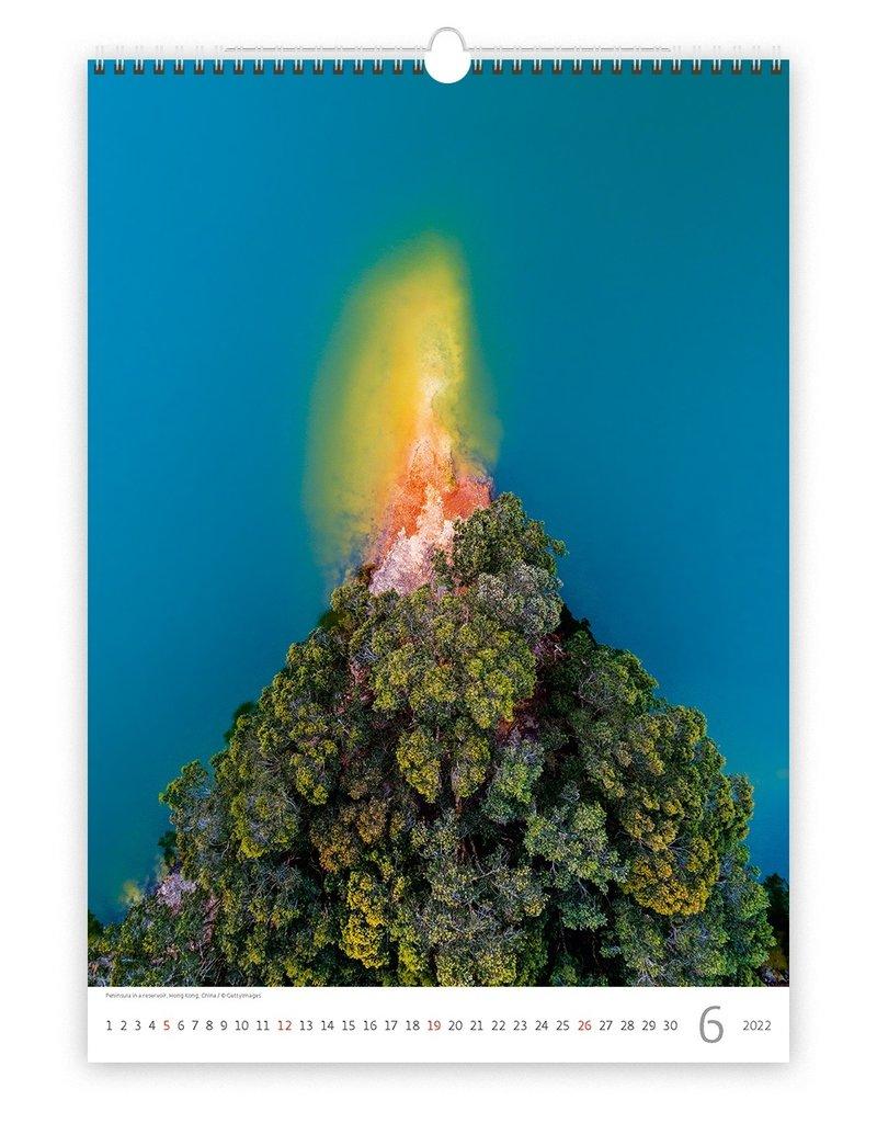 Helma Kalpa Wandkalender 2022 Wereld van Boven 31.5 x 45 cm