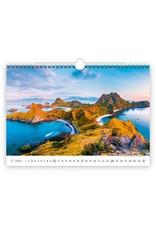 Helma C132-22 Kalpa Wall Calendar 2022 National parks Calendars 45 x 31.5 cm