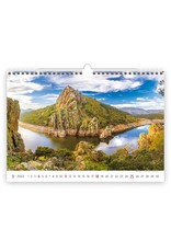 Helma C132-22 Kalpa Wandkalender 2022 Nationale parken 45 x 31.5 cm