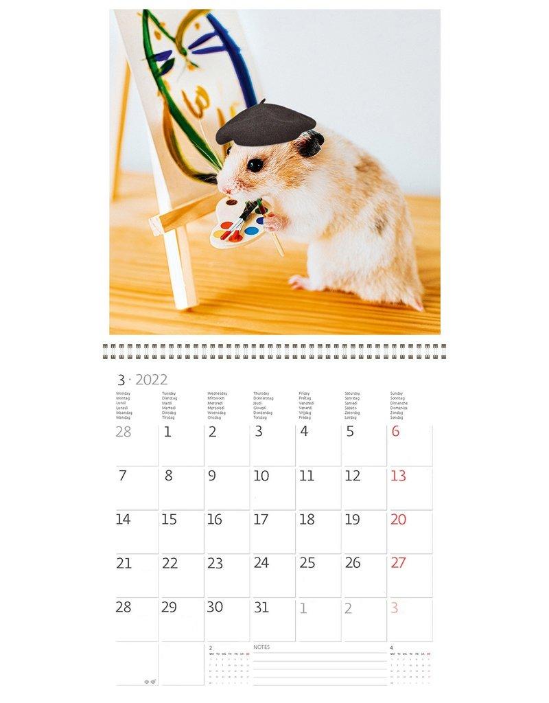 Helma Kalpa kalender 30 x 30 cm Schattig