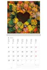 Helma Kalpa kalender 30 x 30 cm Harten