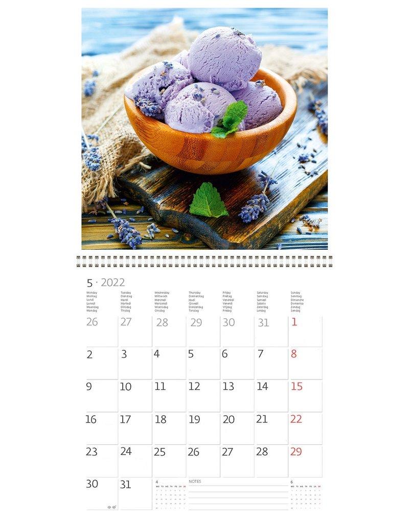 Helma Kalpa kalender 30 x 30 cm Provence