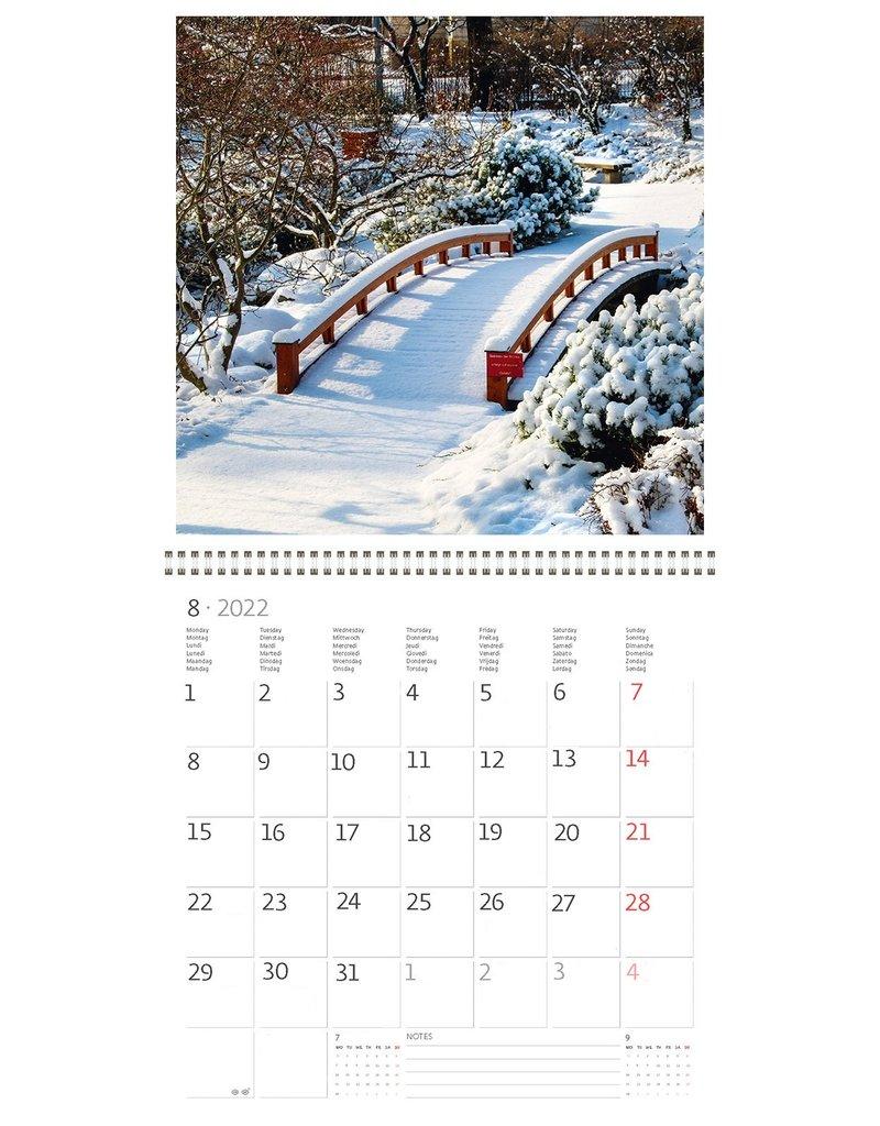 Helma Kalpa calendar 30 x 30 cm Gardens