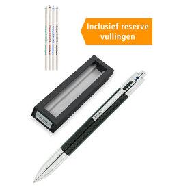 ONLINE Schreibgeräte 70011 4 kleurenpen carbon design